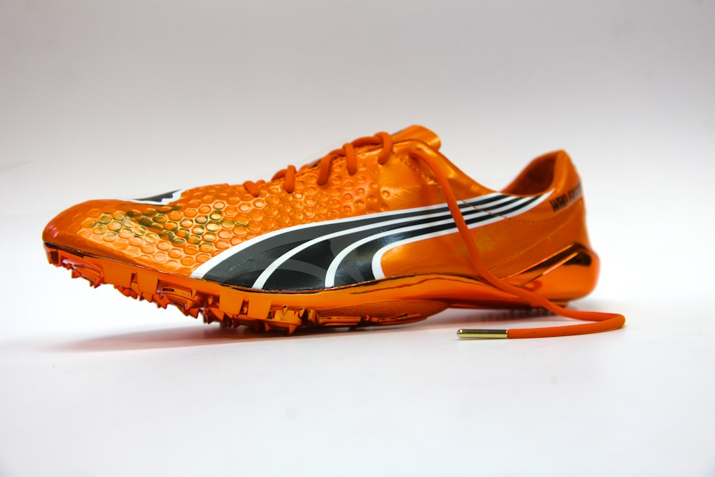 Usain Bolt's shoes - pictures here... | The Running Shoe Guru