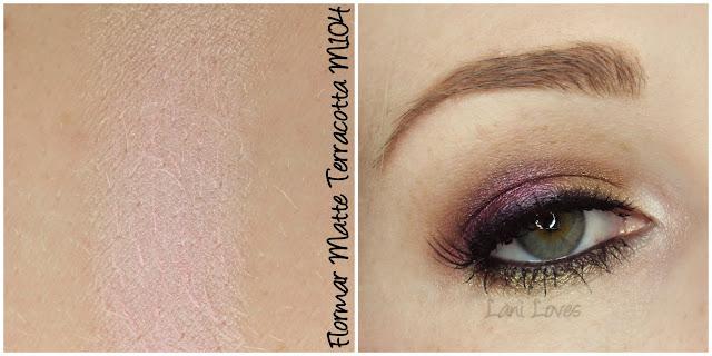 Flormar Matte Terracotta M104 eyeshadow review