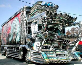 Transporte pesado inusual