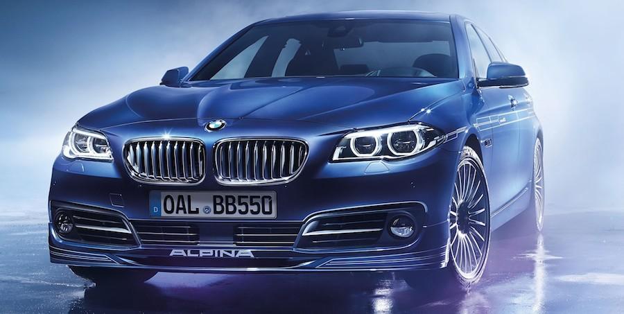 BMWアルピナが創立50周年記念の特別仕様車「EDITION50」を発表 B5