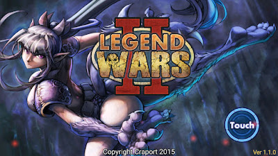 Legend Wars 2 Mod v1.4.8 Apk Terbaru Unlimited Gold + Gems