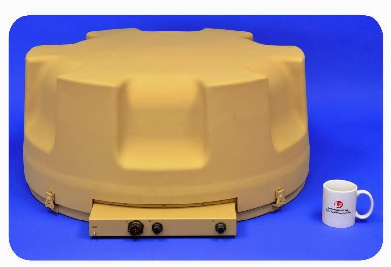 Антенная головка радиопеленгатора DF-125C ОВЧ/УВЧ диапазонов