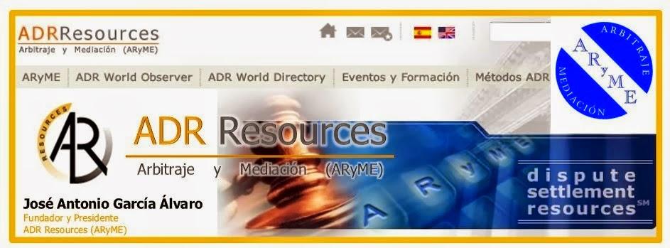 ADR Resources: Arbitraje y Mediación (ARyME)