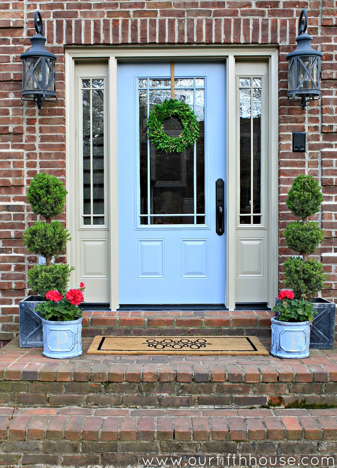 Our Fifth House Quick Curb Appeal: curb appeal doors