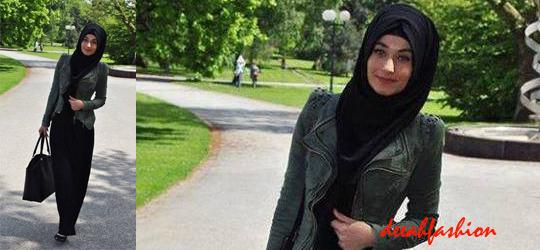 Busana Muslim Untuk ke Kantor OfficeLook2