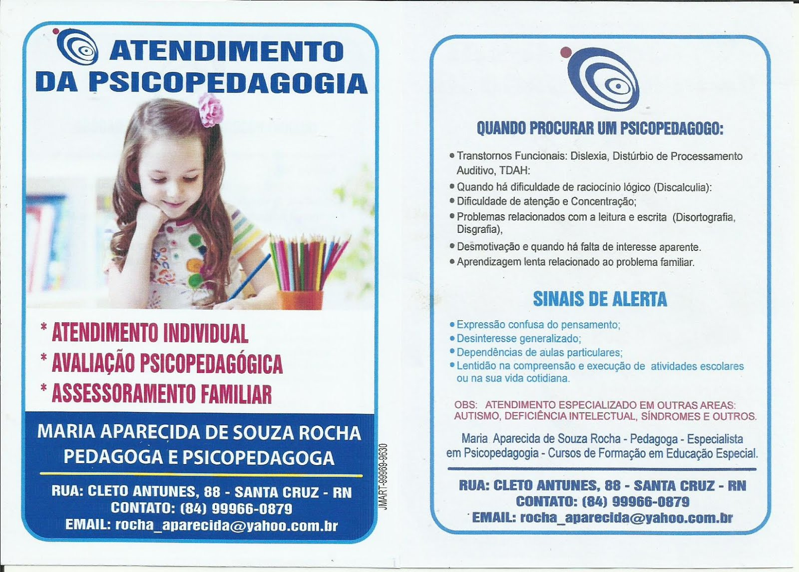 ATEND. EM PSICOPEDAGOGIA