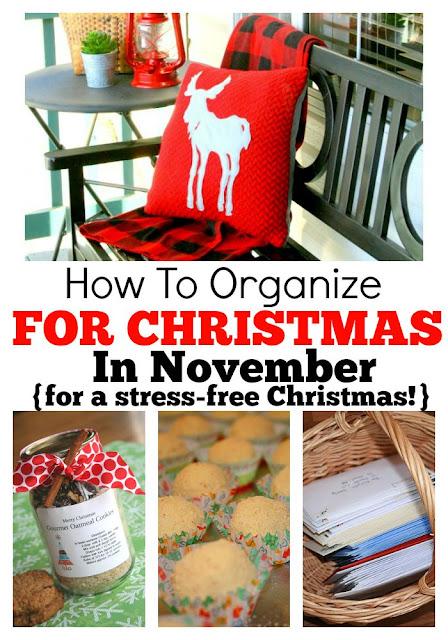 christmas stress, panic christmas, organising christmas,