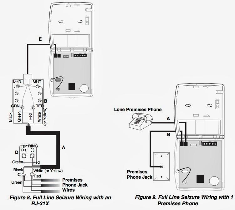 rj31x wiring diagram how to program a simon 3 alarm system to call your cell  how to program a simon 3 alarm system to call your cell