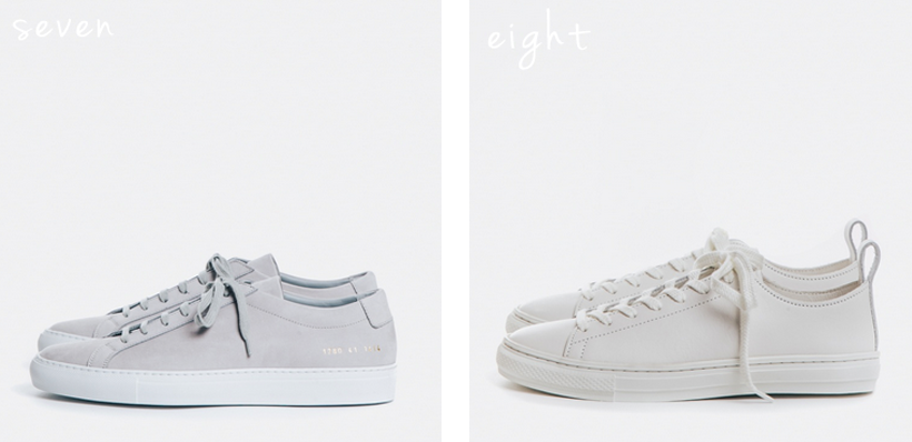 Common Projects Achilles Low // Buddy Bull Terrier Low