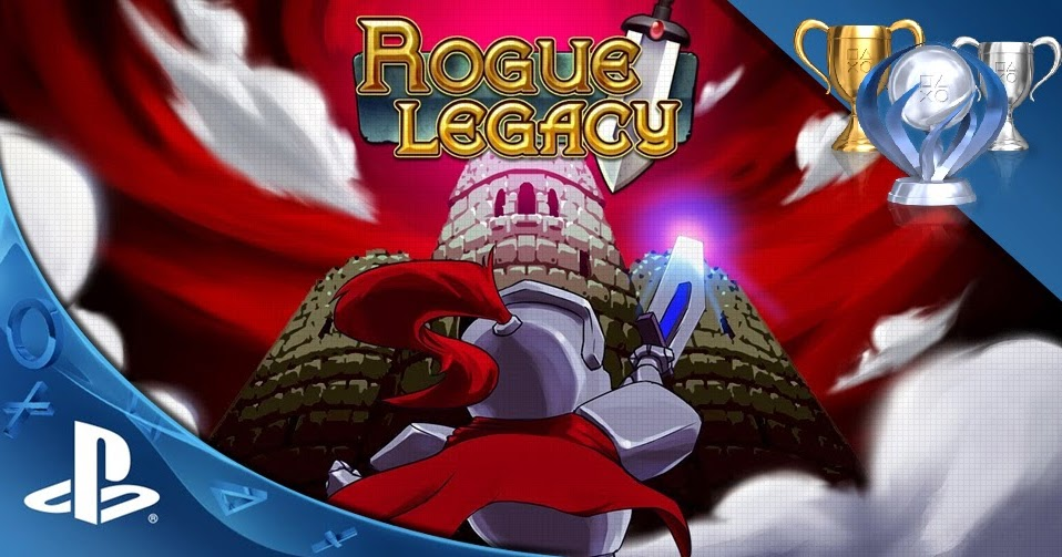Katagelasticism trophy? (Spoilers, I guess?) Rogue Legacy