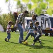 Sommerurlaub Campingplatz