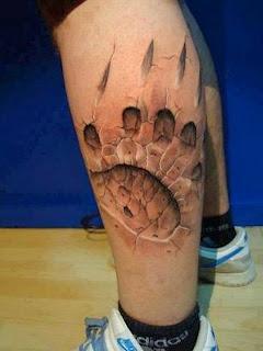 Les tatouages 3D hyper-réalistes !