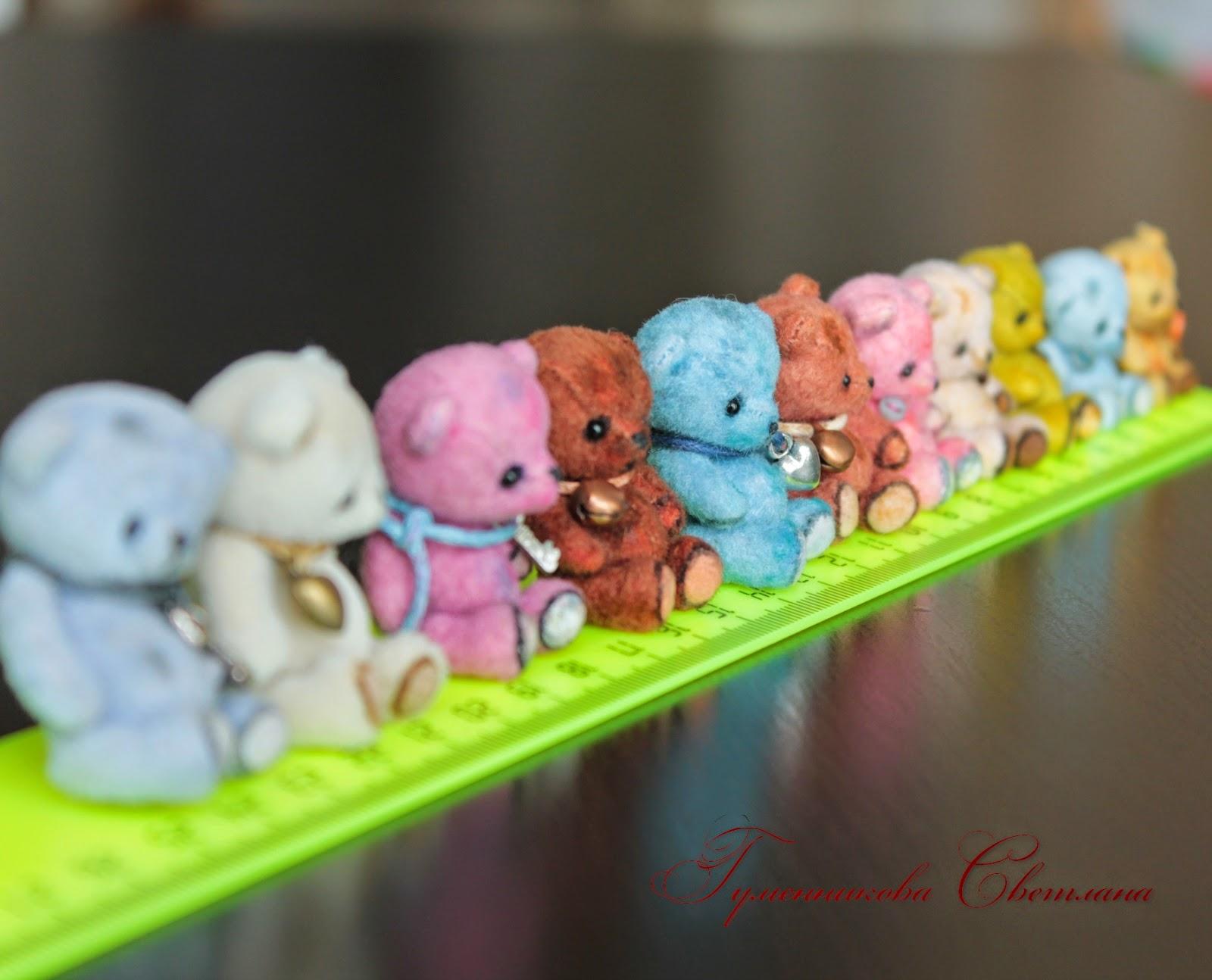 миниатюрные мишки