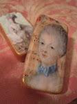 Marie Antoinette Handmade Domino Charms!