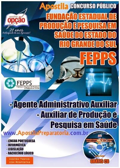 Apostila Fepps - Fundação Estadual de Produção e Pesquisa do Estado do Rio Grande do Sul