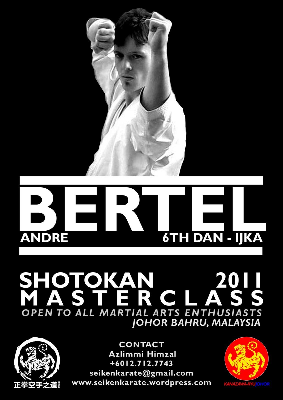 "... & poster on ""Shotokan Karate – The Art of Self Defense"