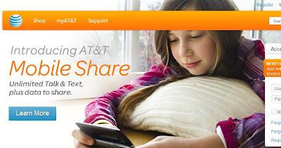 ATT homepage