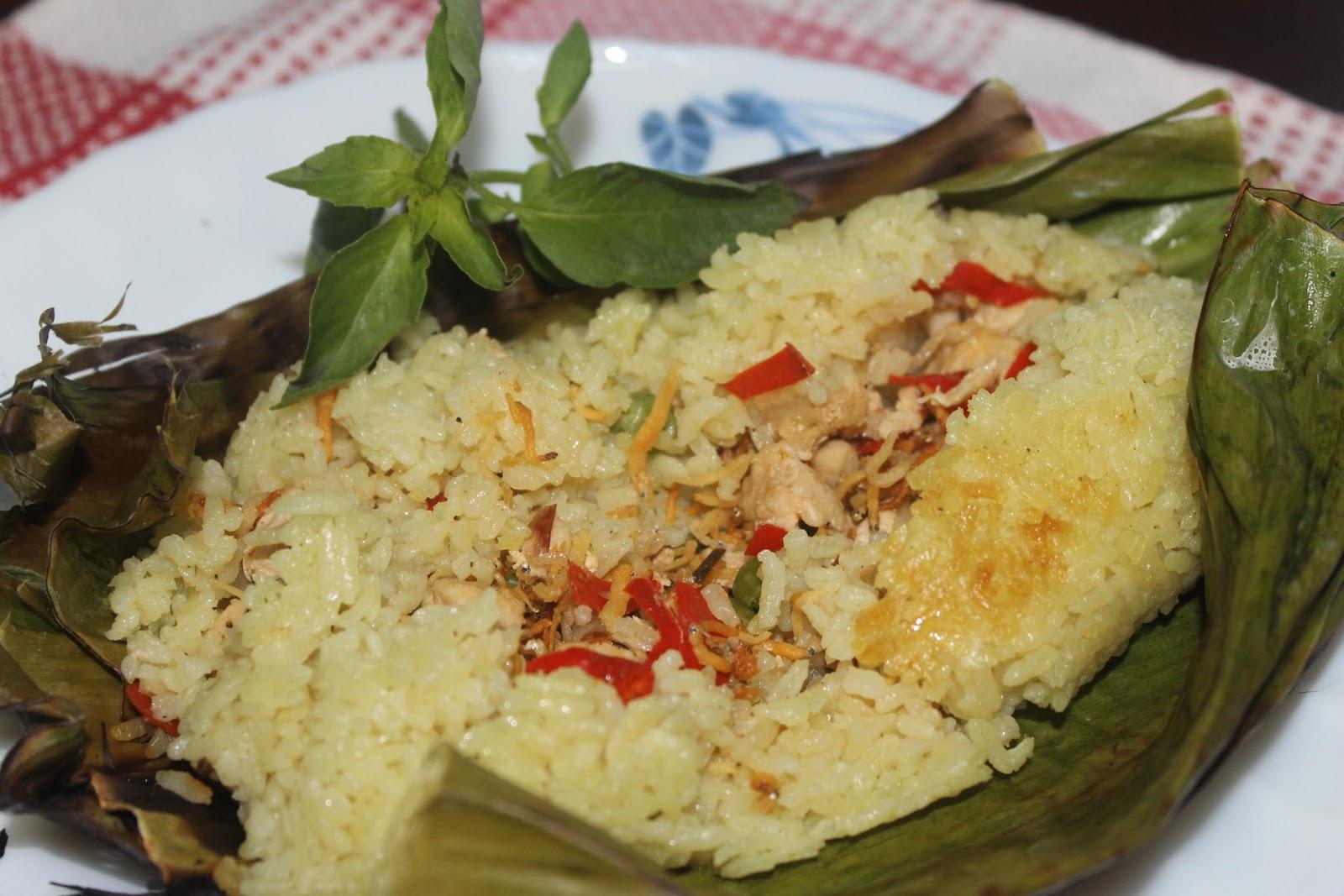 Resep Nasi Bakar Teri - Koleksi Menu Masakan Sedap