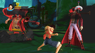 One Piece Pirate Warriors Gamescom Gameplay Screenshots Luffy Blackbeard Hawkeyes