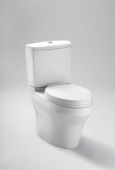 so why choose a toilet thatu0027s harder to clean like this kohler wellworth toilet traditional design the sleeker look of skirted toilets can be too