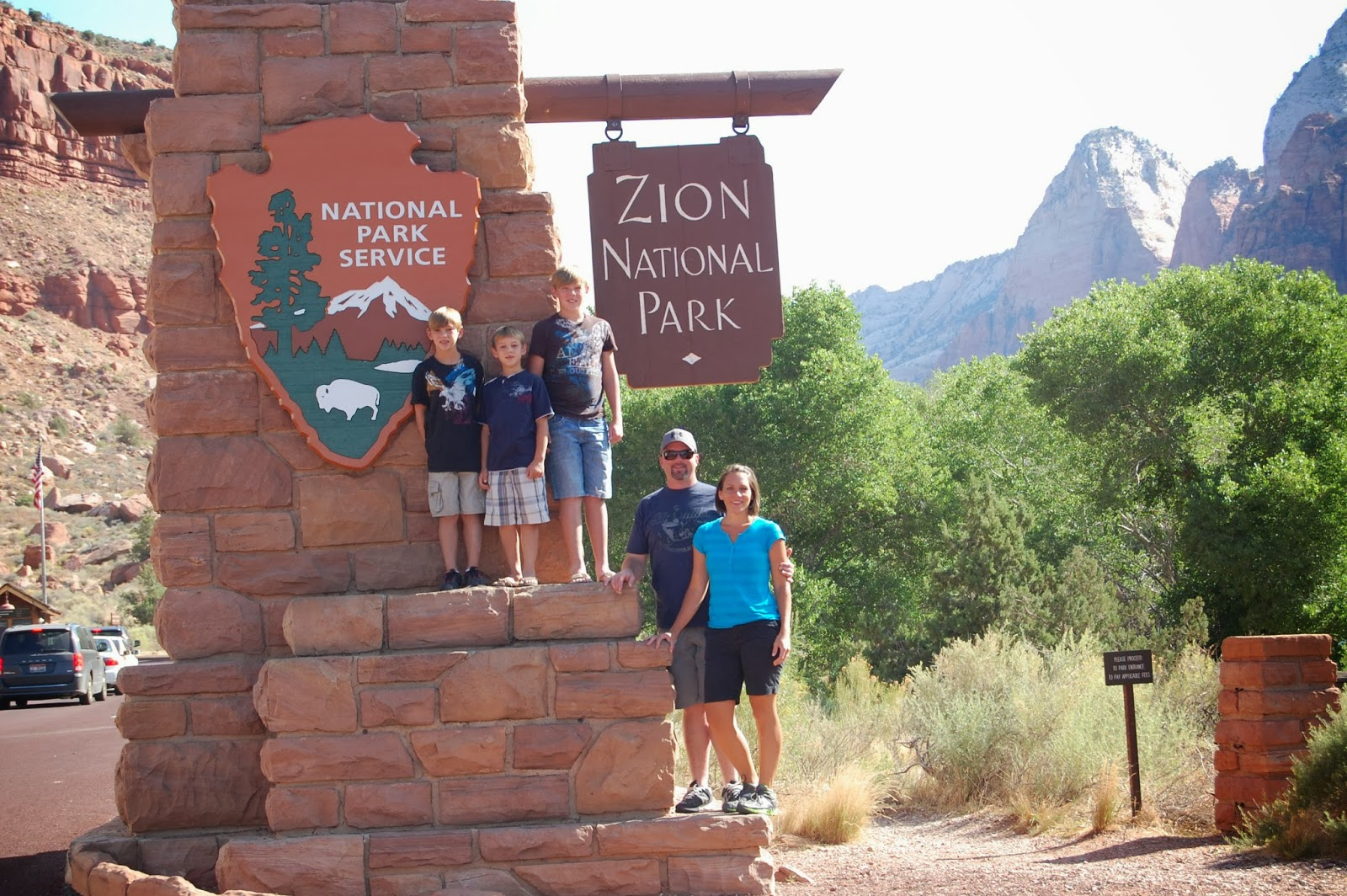 zion park hiking