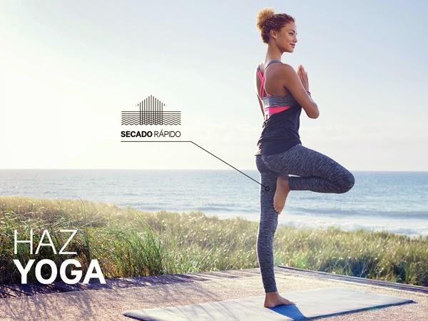 moda deportiva mujer H&M ropa para hacer yoga