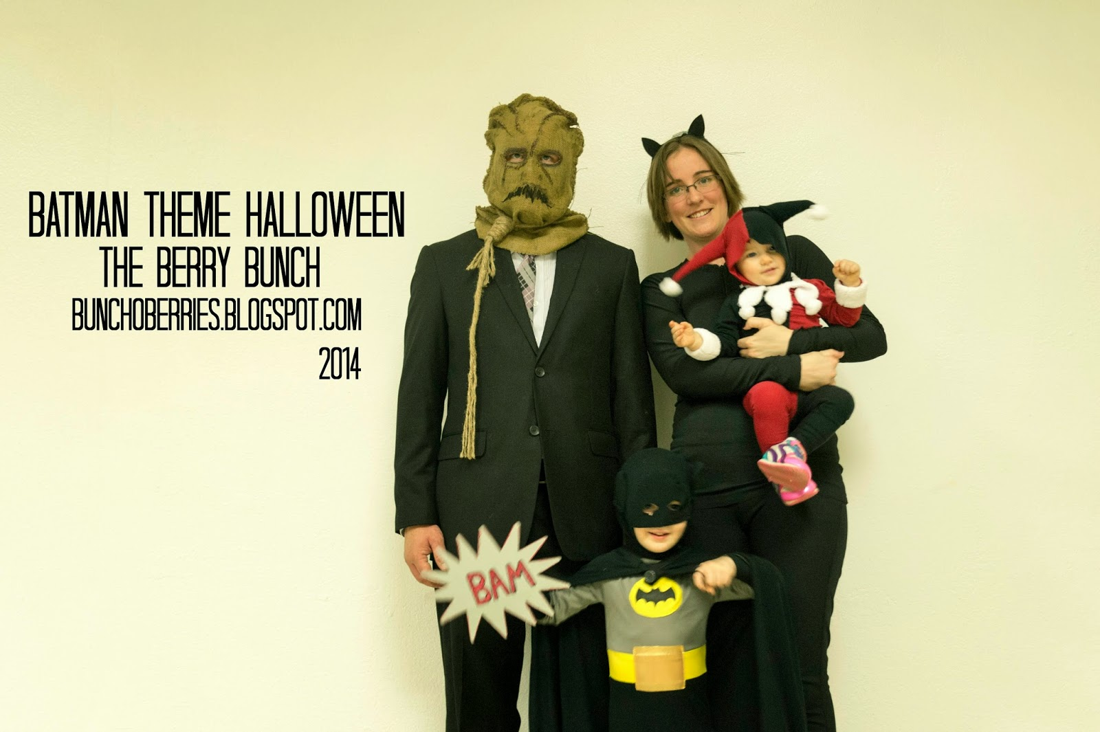 The Berry Bunch: Happy Halloween: Batman Theme Costumes: Batman