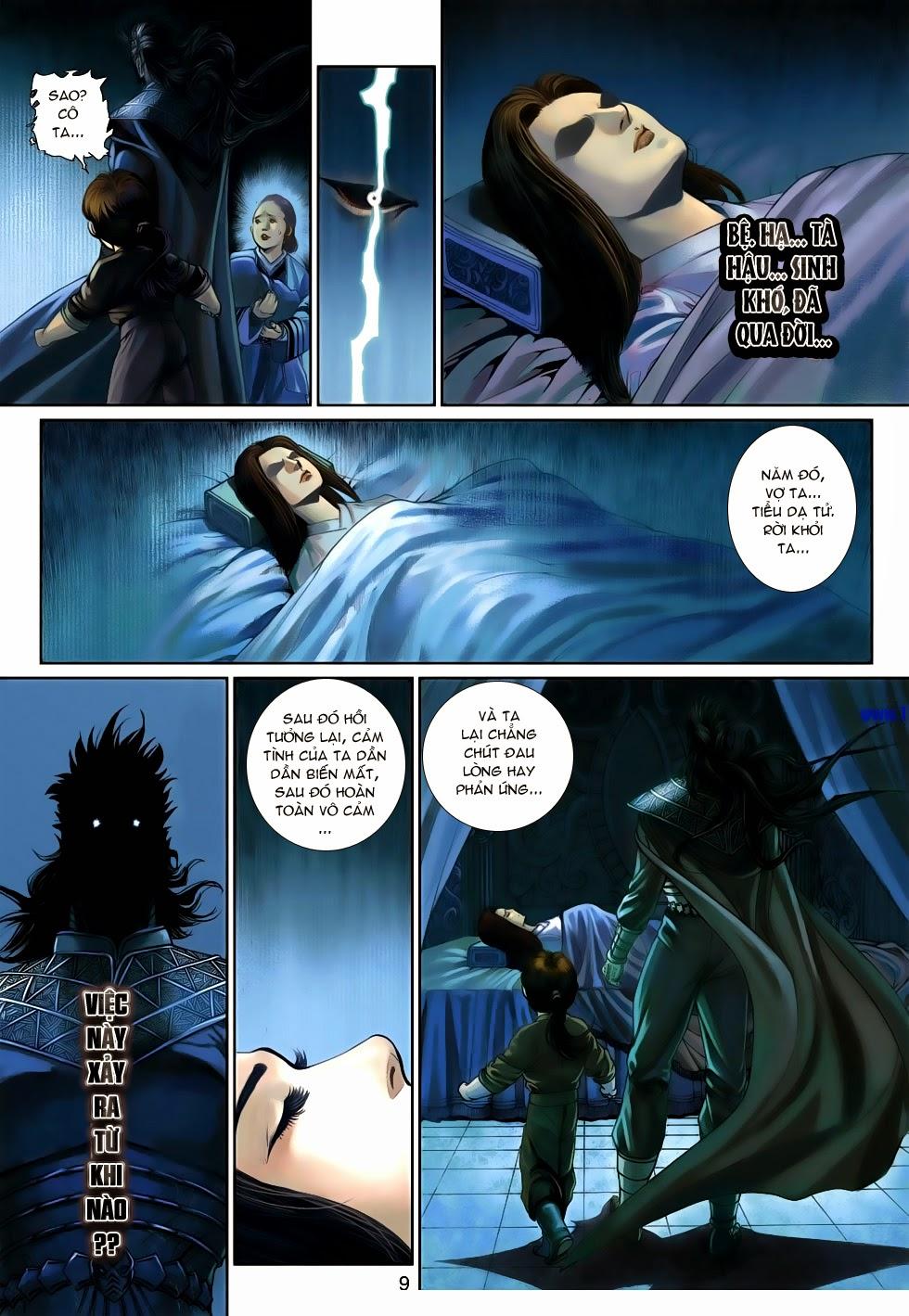 Thần Binh Tiền Truyện 4 - Huyền Thiên Tà Đế chap 14 - Trang 9