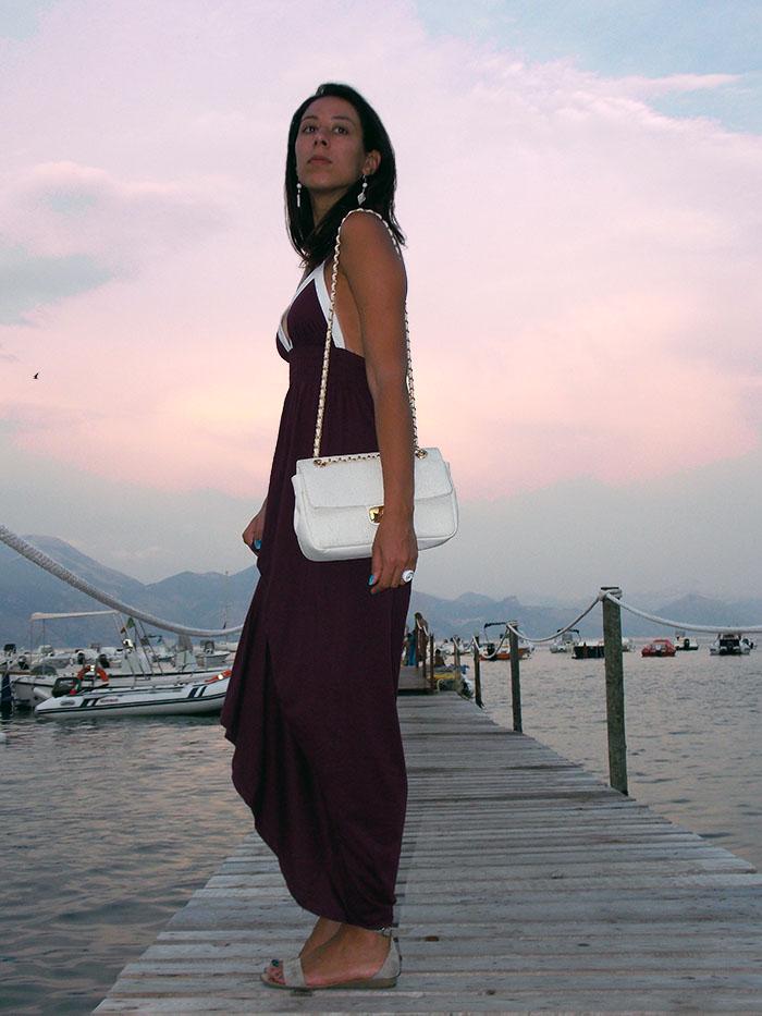 abito lungo, come indossare