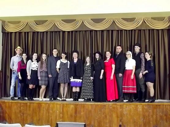 Az Alsósófalvi Ifjúsági Színjátszó csoport