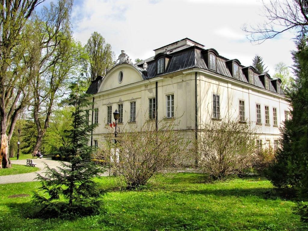 Nałęczów - pałac Małachowskich