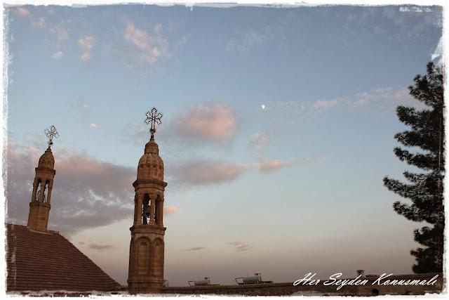 Mor Gabriel Manastırı, manzara