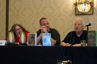 Peggy Hailey, Scott Zrubek, Joe Lansdale, Armadillocon 36