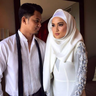 Hanis Zalikha-Hairul Azreen nikah