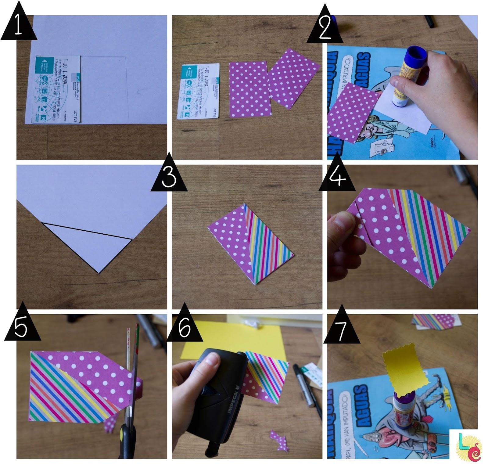 Lovers crafts tarjetas regalo con tarjetas del metro - Como se hace manualidades ...