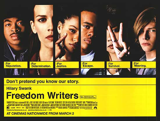 an analysis of the healing myth in freedom writers a movie by richard lagravenese Dimension news / via the beardscratchers compendium  six organs of admittance, sir richard bishop, the  he just put that on there so that writers.