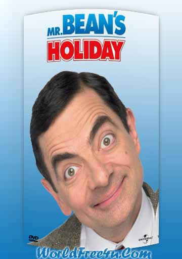 Poster Of Mr. Bean's Holiday (2007) In Hindi English Dual Audio 300MB Compressed Small Size Pc Movie Free Download Only At worldfree4u.com