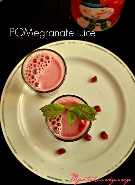 pomegranate juice recipe1