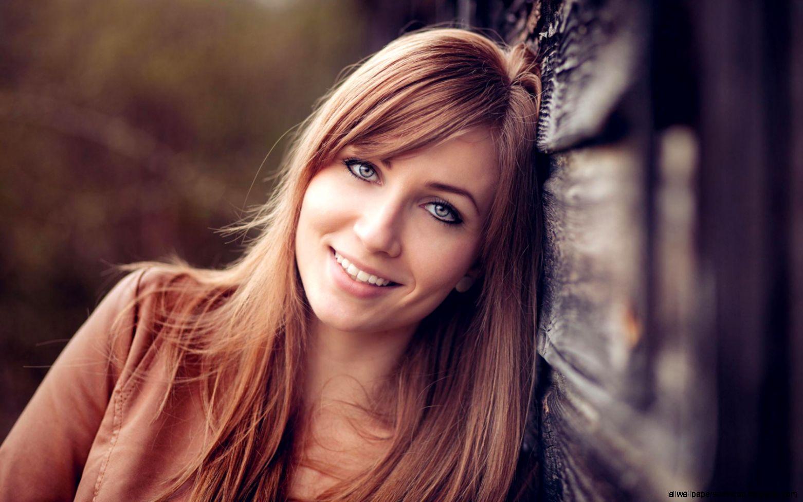 Girl Smile Portrait Mood Bokeh Hd Wallpaper  Best Desktop Wallpapers