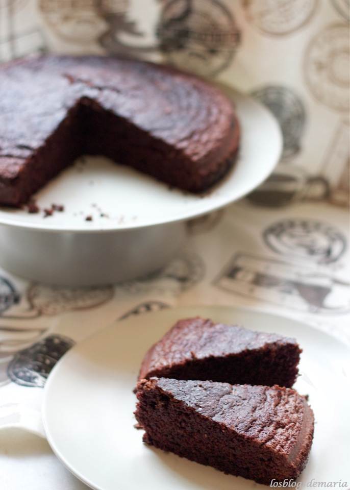 Tarta de chocolate super sencilla