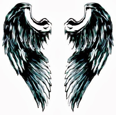 Angel wing tattoos for women, another women ideas images