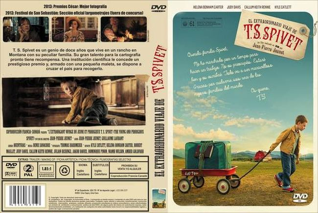 The Young and Prodigious Spivet – Latino