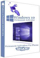Windows 10 Permanent Ultimate Activator 1.1 Final via Phone (Skype) !