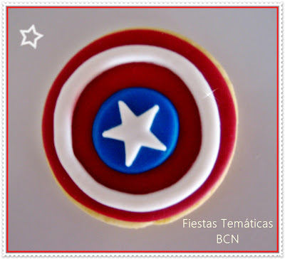 GALLETA CAPITAN AMERICA