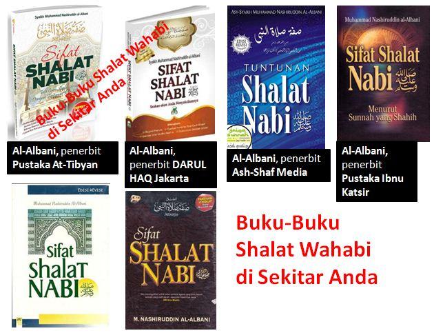 Waspadai Buku-Buku ''Sifat Shalat Nabi'' Terbitan Wahabi Disekitar Anda