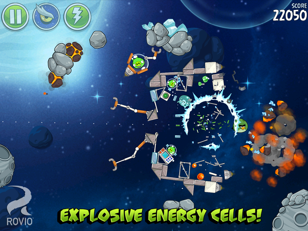 Games Angry Birds Space Android Apk Asik - 4