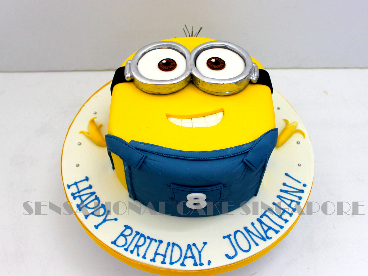 The Sensational Cakes bob and teddy cake singapore minions cake