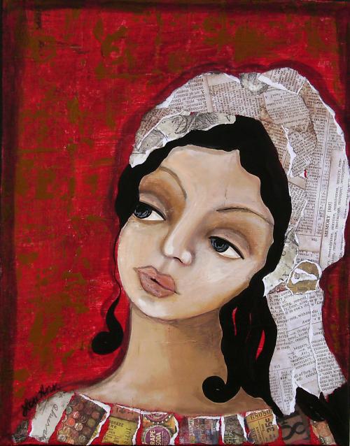 Creole woman art