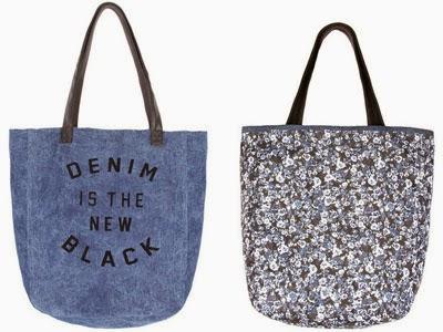 Bershka colección reversible bolso tote bag