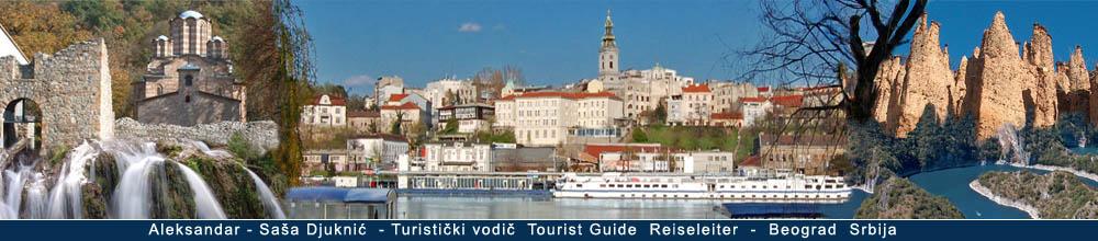 Turisticki vodic - Tourist guide - Touristikführer